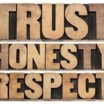 TrustHonestyRespect